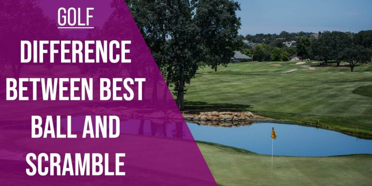 Difference Between Best Ball And Scramble