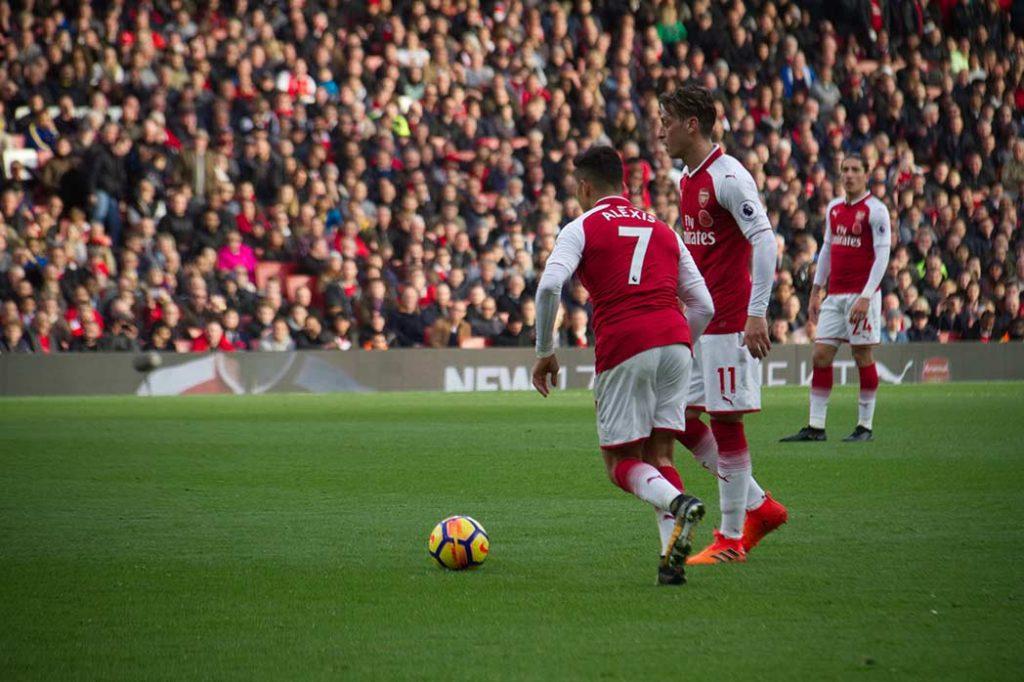Alexis Sanchez And Mesut Özil