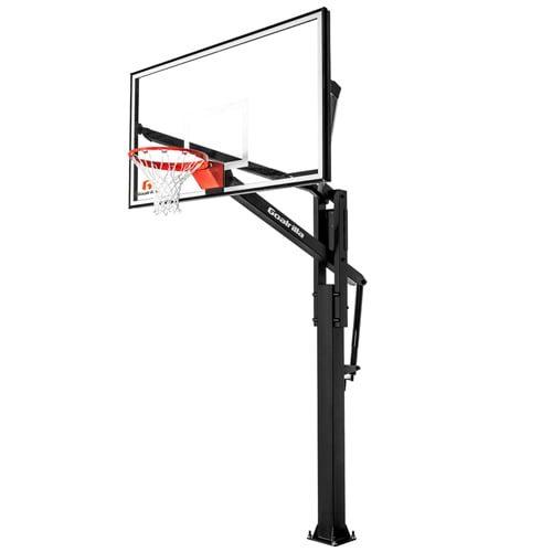 goalrilla ft series great backboard in-ground basketball hoop