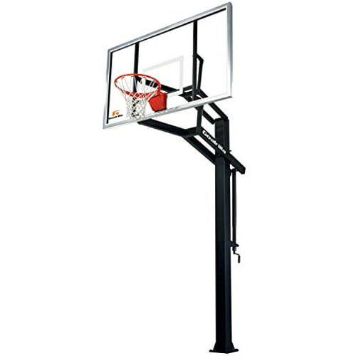 easiest in-ground basketball hoop to setup