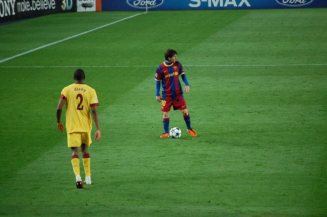 messi and diaby captains