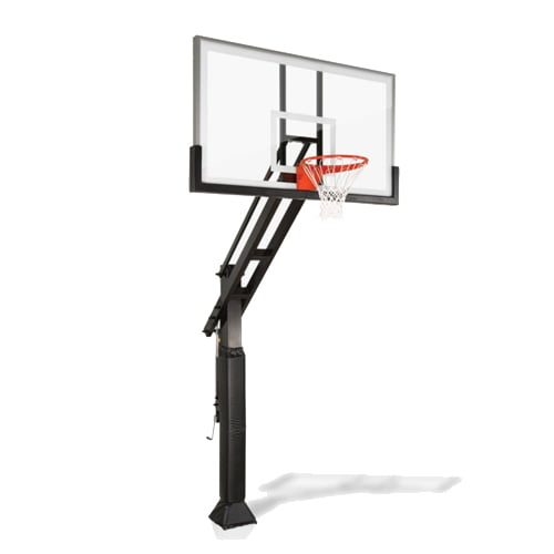 pro dunk platinum adjustable in-ground basketball goal